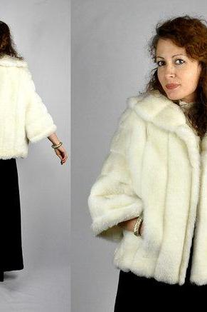 New white/ivory Winter Faux Fur Ivory/white 3/4 sleeve Wedding Bridal Dress Shrugs Bolero Jacket Coat Shawl